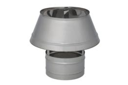 Daszek kominowy stożek, dyfuzor na rurę ceramiczną z rurą
